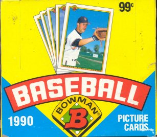 1990 Bowman Baseball Cello Box