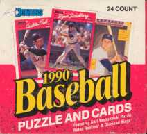 1990 Donruss Baseball Cello Box