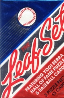 1990 Leaf Series 1 Baseball Wax Pack - Sosa Rookie!!