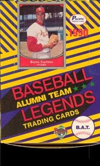1990 Pacific Alumni Team Legends Baseball Wax Box