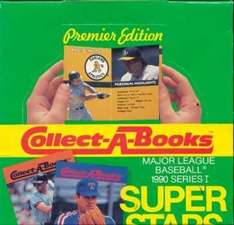 1990 Swell Collect A Book Baseball Wax Box