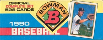 1990 Bowman Baseball Factory Set (Colorful)