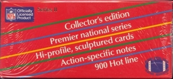 1990 Action Packed Series 2 Football Wax Box