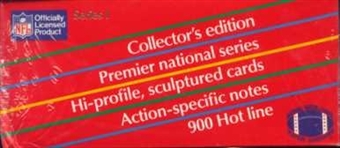 1990 Action Packed Series 1 Football Wax Box