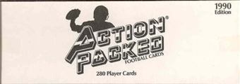 1990 Action Packed Football Factory Set