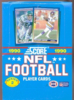 1990 Score Series 2 Football Wax Box