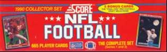 1990 Score Football Factory Set