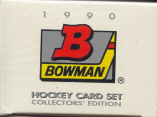 1990/91 Bowman Tiffany Hockey Factory Set