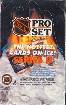 1990/91 Pro Set Series 2 Canadian Hockey Hobby Box