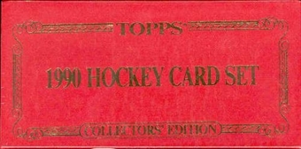 1990/91 Topps Hockey Tiffany Factory Set