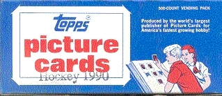 1990/91 Topps Hockey Vending Box