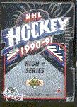 1990/91 Upper Deck English Hi # Hockey Factory Set