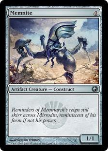 Magic the Gathering Scars of Mirrodin Single Memnite - NEAR MINT (NM)