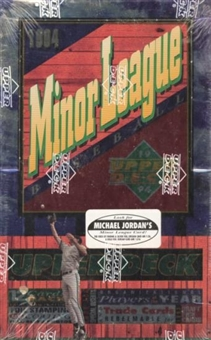 1994 Upper Deck Minor League Baseball Hobby Box