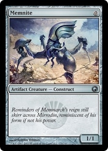 Magic the Gathering Scars of Mirrodin Single Memnite Foil