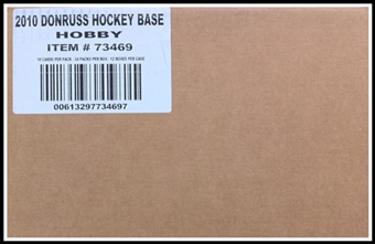 2010/11 Donruss Hockey Hobby 12-Box Case