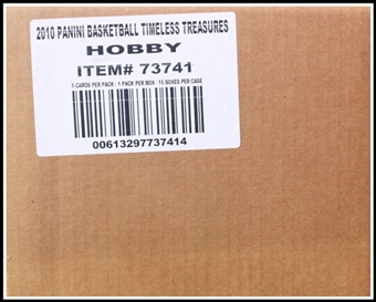 2010/11 Panini Timeless Treasures Basketball Hobby 15-Box Case