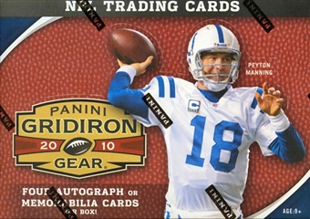 2010 Panini Gridiron Gear Football Hobby Box