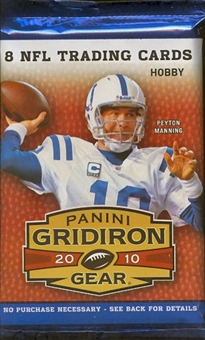 2010 Panini Gridiron Gear Football Hobby Pack
