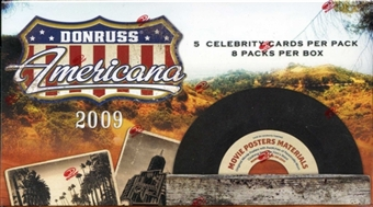 2009 Donruss Americana 8-Pack Box