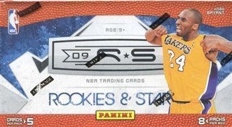 2009/10 Panini Rookies & Stars Basketball 8-Pack Box