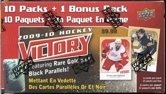 2009/10 Upper Deck Victory Hockey 11-Pack Box