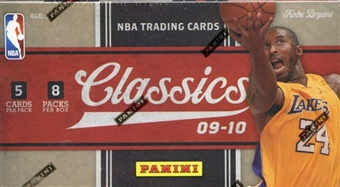 2009/10 Panini Classics Basketball 8-Pack Box
