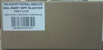 2009 Playoff Absolute Memorabilia Football Blaster 20-Box Case