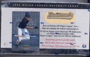1995 Bowman's Best Baseball Hobby Box