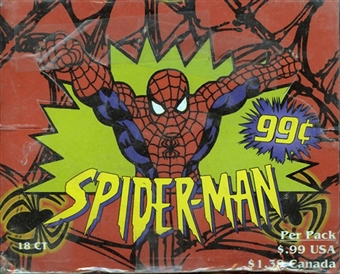 Spiderman 18-Pack Box (1997 Fleer Skybox)