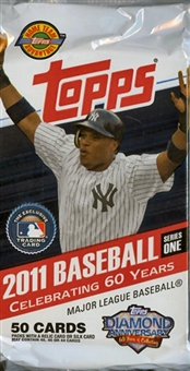 2011 Topps Series 1 Baseball Jumbo Pack