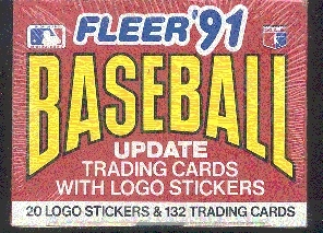 1991 Fleer Update Baseball Factory Set