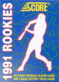 1991 Score Rookies Baseball Factory Set