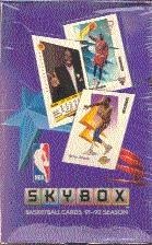 1991/92 Skybox Series 1 Basketball Hobby Box