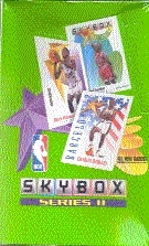 1991/92 Skybox Series 2 Basketball Hobby Box