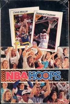 1991/92 Hoops Series 1 Basketball Wax Box