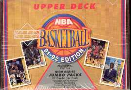 1991/92 Upper Deck Hi # Basketball Jumbo Box
