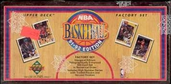 1991/92 Upper Deck Basketball Factory Set