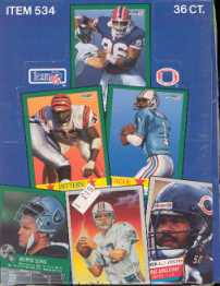 1991 Fleer Football Wax Box
