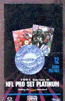 1991 Pro Set Platinum Series 2 Football Wax Box