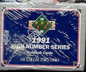 1991 Upper Deck Hi # Football Factory Set