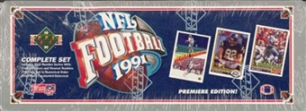 1991 Upper Deck Football Factory Set