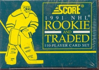 1991/92 Score Rookie & Traded Hockey Factory Set