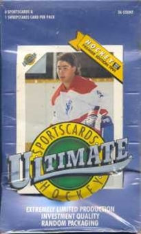 1991/92 Ultimate Hockey Box