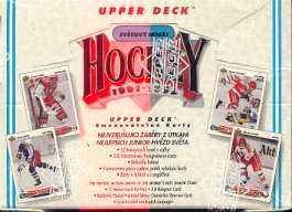 1991/92 Upper Deck Czech Hockey Hobby Box