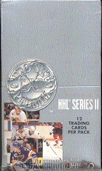 1991/92 Pro Set Platinum Series 2 Hockey Hobby Box
