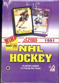 1991/92 Score U.S. Hockey Hobby Box