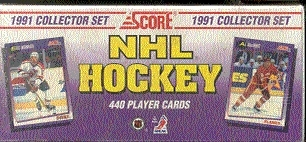 1991/92 Score U.S. Hockey Factory Set