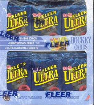 1992/93 Fleer Ultra Series 1 Hockey Retail Box