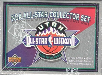 1992/93 Upper Deck All Star Basketball Set
